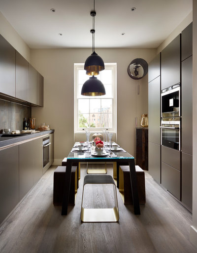 Contemporary Kitchen by Manor Design