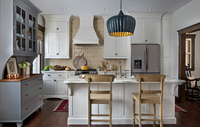 Kitchen of the Week: New Kitchen Fits an Old Home