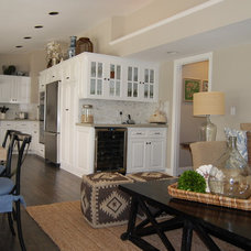 Transitional Kitchen by Dana Nichols