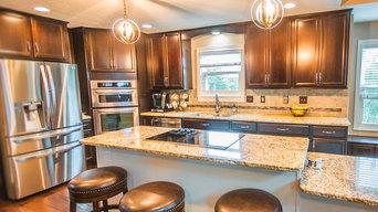 Living Room, Dining Room, Kitchen Renovation