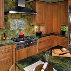 Rustic Kitchen by Rich  Sistos Photography