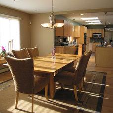Contemporary Kitchen by LMW Designs, LLC