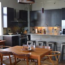 Industrial Kitchen by Design Craft Co