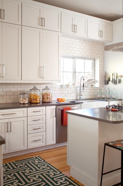 Transitional Kitchen by Ashley Campbell Interior Design