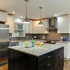 Transitional Kitchen by Jana Donohoe Designs