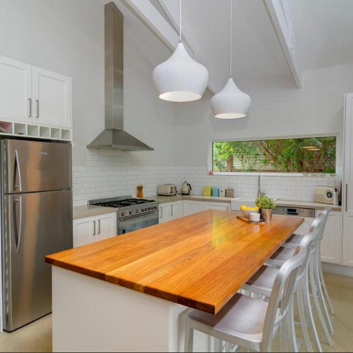 Bright Kitchen & Bathroom Renovation