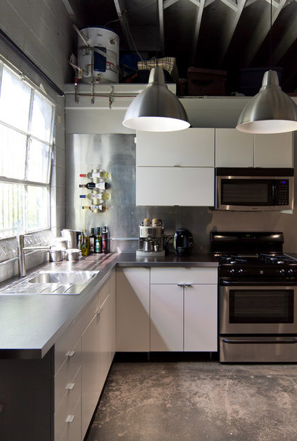 Industrial Kitchen by A.S.D. Interiors - Shirry Dolgin, Owner