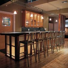 Contemporary Kitchen by B R A D  J E N K I N S  I N C