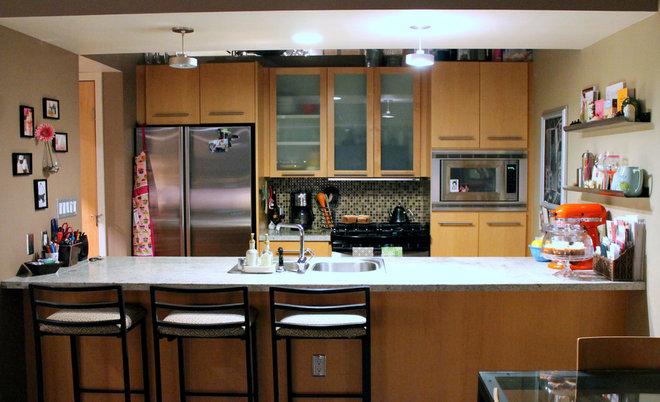 Contemporary Kitchen by Lauren Mikus