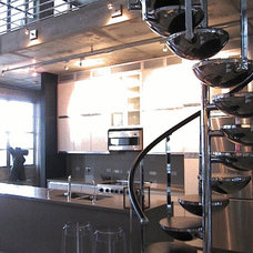 Contemporary Kitchen by Lawrence C Wald Works