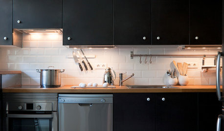 8 ideas para aplicar el color negro en la cocina