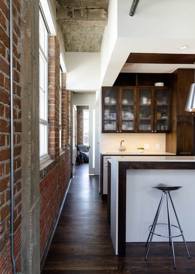 Industrial Kitchen by CONTENT Architecture