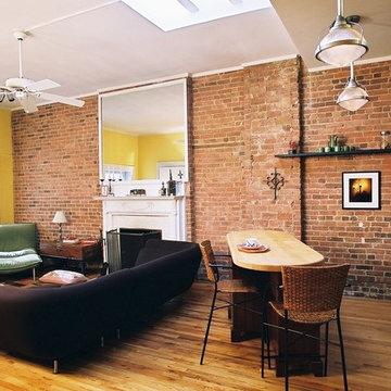 Loft Kitchen/Living room