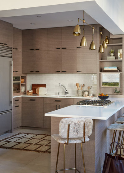 Contemporary Kitchen by Raychel Wade Design