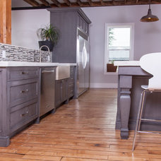 Contemporary Kitchen by Woody's Custom Cabinetry