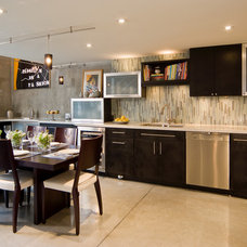 Contemporary Kitchen by Templer Interiors