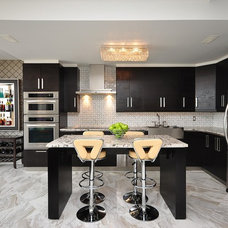 Contemporary Kitchen by Stone Trend Design & Build Inc.