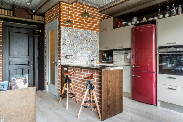 Лофт Кухня by Litvinov design