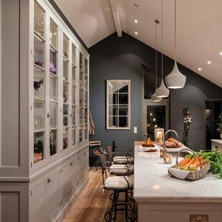 Ante Cucina In Vetro.Cucina Con Ante Di Vetro Irlanda Foto E Idee Per Ristrutturare E