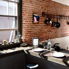 Industrial Kitchen by Landing Design & Development