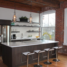Industrial Kitchen by Carla Presz