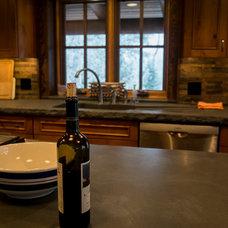 Traditional Kitchen by Nicholas Modroo Designs, LLC