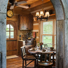 Traditional Kitchen by Appalachian Log and Timber Homes