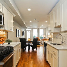 Contemporary Kitchen by Persimmon Tree Designs and Staging, LLC