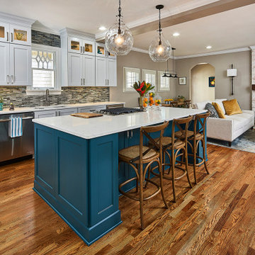 Lombardy Circle Kitchen & Fireplace Remodel