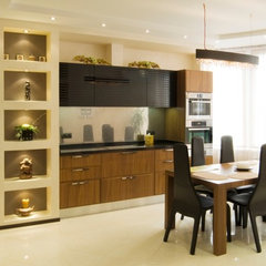 modern kitchen by Lompier Interior Group