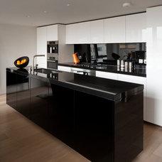 Contemporary Kitchen by Juliette Byrne