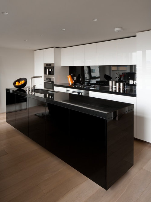 Black And White Kitchen | Houzz