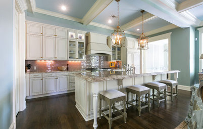 No Shaker or Shiplap in This Traditional Kitchen