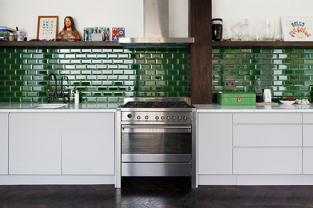 Eclectic Kitchen By Brian O Tuama Architects