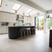 Kitchen Tour: A Bespoke Kitchen is Recycled in a New Extension