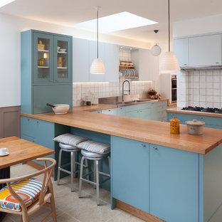 London wrap around extension/refurbishment and cellar conversion