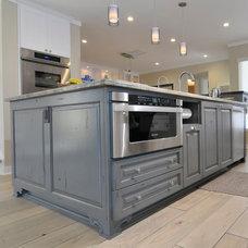 Beach Style Kitchen by Scane Custom Cabinets, Inc.