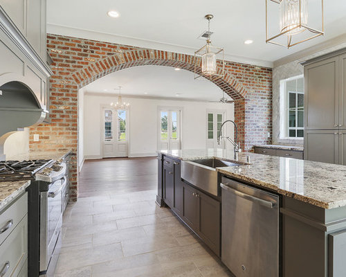 New Orleans Galley Kitchen Design Ideas Renovations Photos