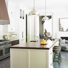 Traditional Kitchen by The Design Atelier