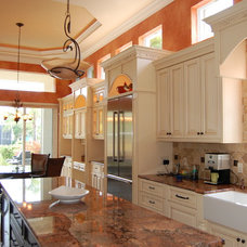 Traditional Kitchen by James Anderson LLC. Design & Build