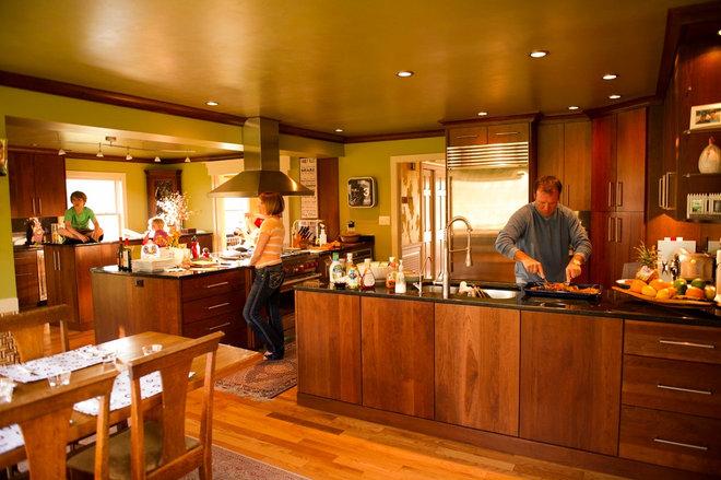 Modern Kitchen by david lyles developers