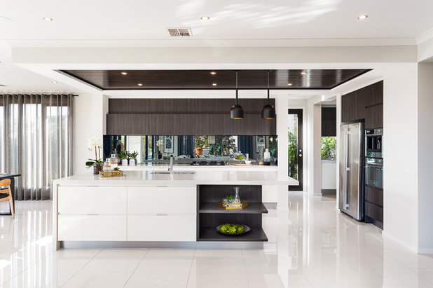 Contemporary Kitchen by Metricon