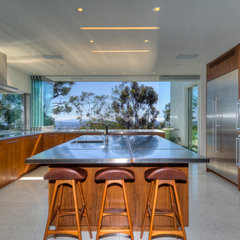 modern kitchen by Bertram Architects