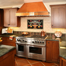 Mediterranean Kitchen by Republic Tile Works, LLC