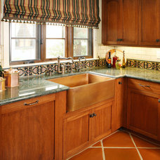 Traditional Kitchen by Republic Tile Works, LLC