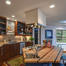 Contemporary Kitchen by Six Degrees Construction