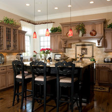 Traditional Kitchen by Lord General Contractors Corp