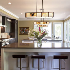 Transitional Kitchen by LORRAINE G VALE, Allied ASID