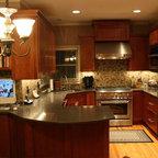 Kitchen - Traditional - Kitchen - Kansas City - by Becky ...