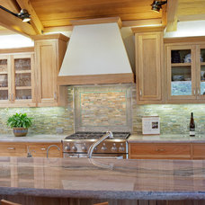 Contemporary Kitchen by Rehder Construction, Inc.